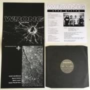 """WRONG """"Stop Giving EP"""" 12″ (Robotic Empire)"""