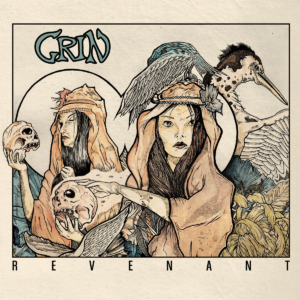 "GRIN ""Revenant"" Debut-LP (2nd Press, TLD Records 2018)"