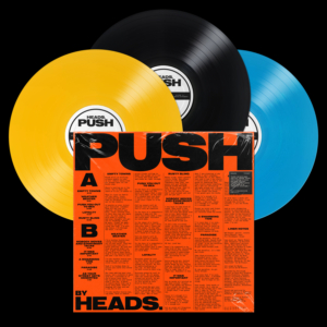 "HEADS. ""PUSH"" LP (Glitterhouse Records)"