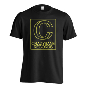 "CRAZYSANE RECORDS ""Logo"" Shirt"